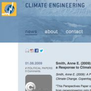Climate Engineering blog