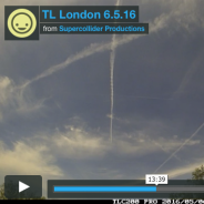 Daily time-lapse films of London skies